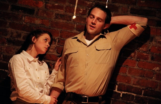 Lauren Ashley Carter* and Bryant Martin* in Pig Iron's Gentlemen Volunteers